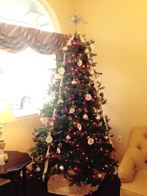 Alzheimer's Christmas tree