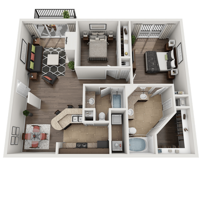 1, 2 & 3 Bedroom Apartments In San Antonio, TX