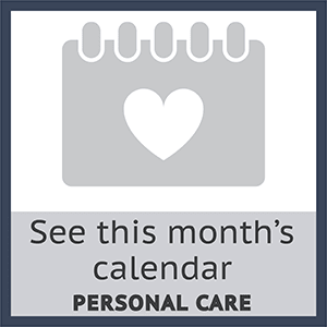 Check out this months personal care calendar at The Haven at Springwood in York, Pennsylvania