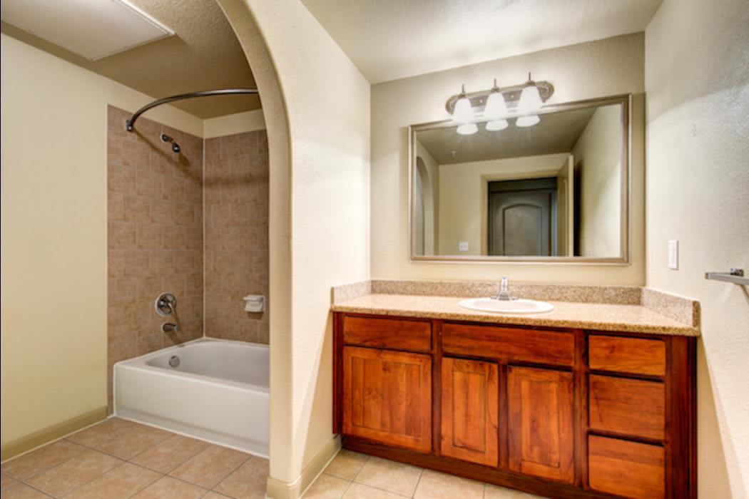 Bathroom at Marquis Grand Lakes in Richmond, Texas