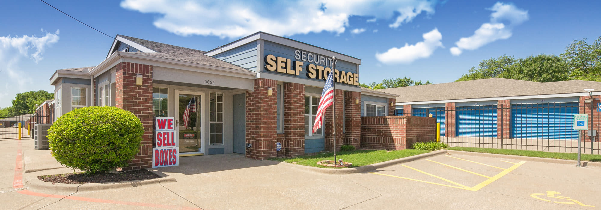 Self storage in Dallas TX