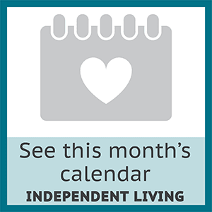 View this month's event calendar for independent living residents at Woodland Heights in Little Rock, Arkansas