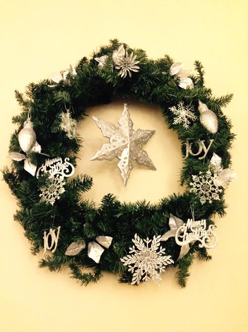 Alzheimer's Christmas decoration
