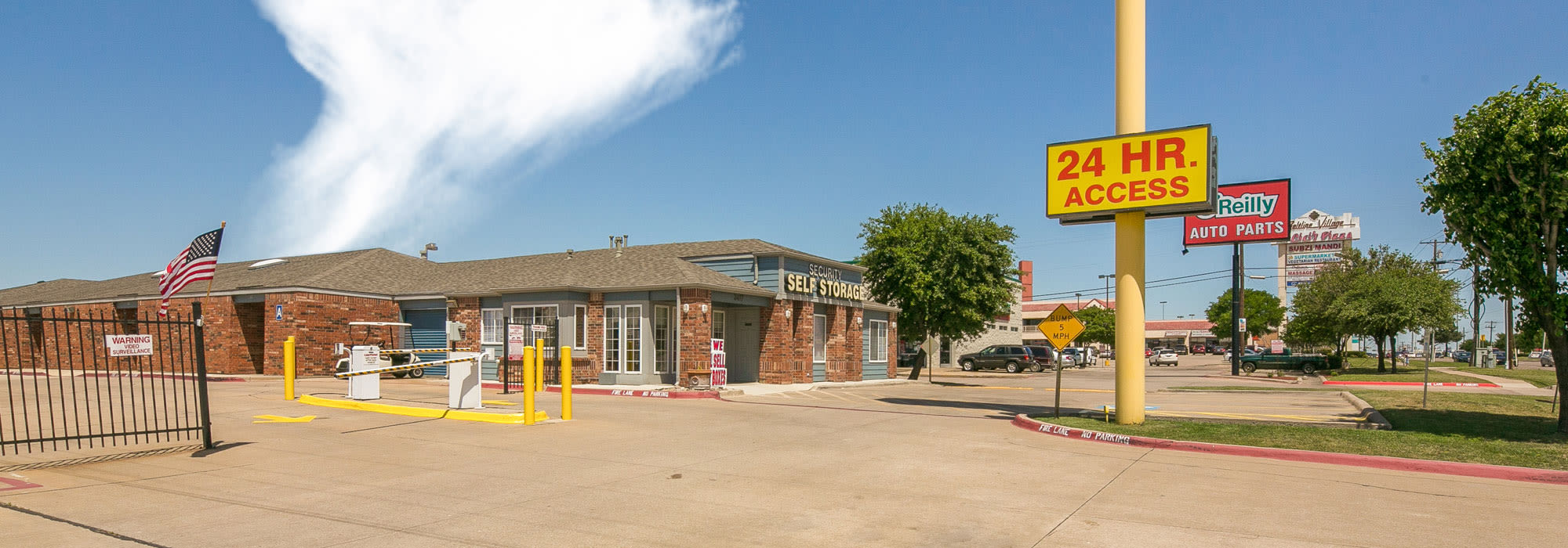 Self Storage Units Irving, TX | Security Self-Storage