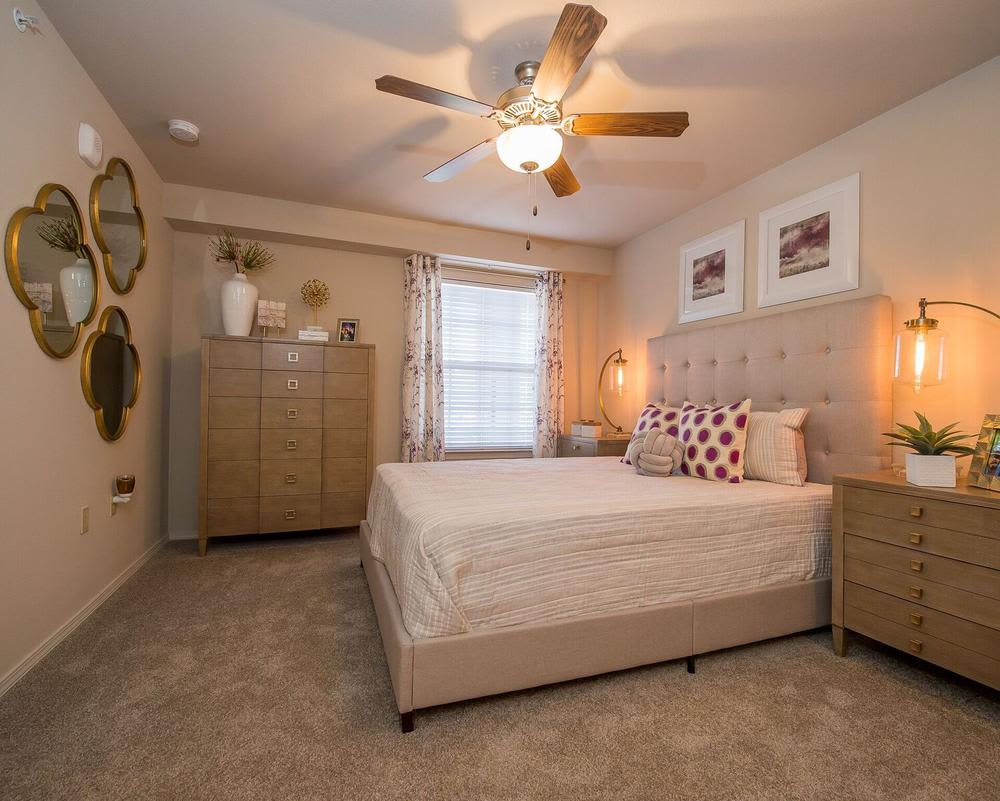 Luxurious bedroom at Watercress Apartments