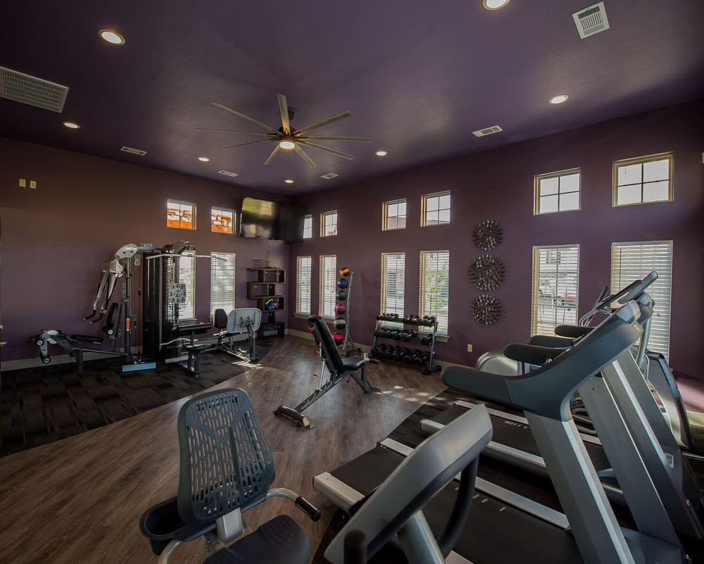 Gym at Watercress Apartments in Maize