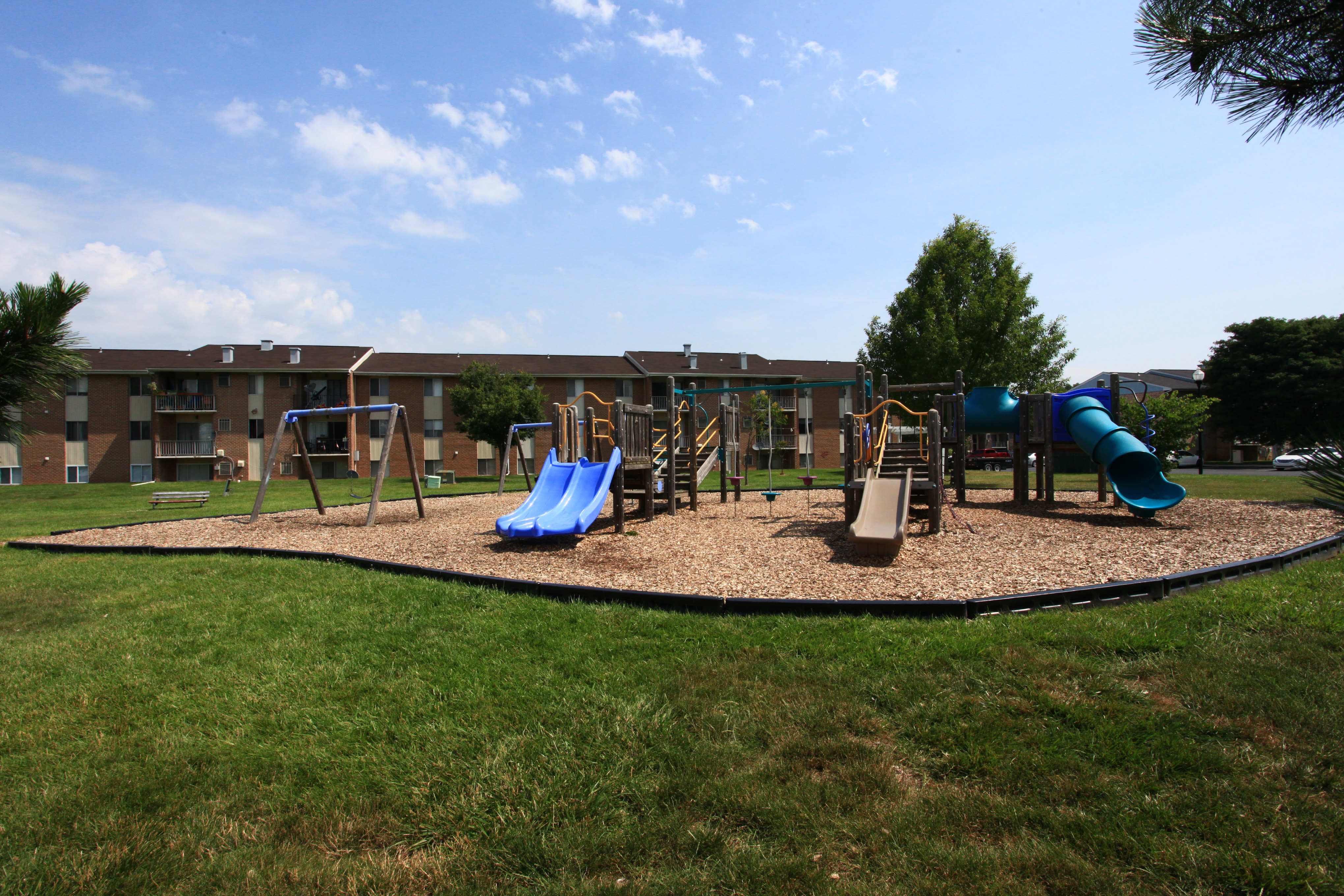 Commons at White Marsh Apartments offers a beautiful playground in Middle River, Maryland