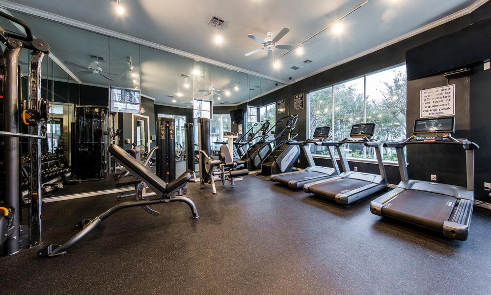 Gym at Marquis at Stonegate in Fort Worth