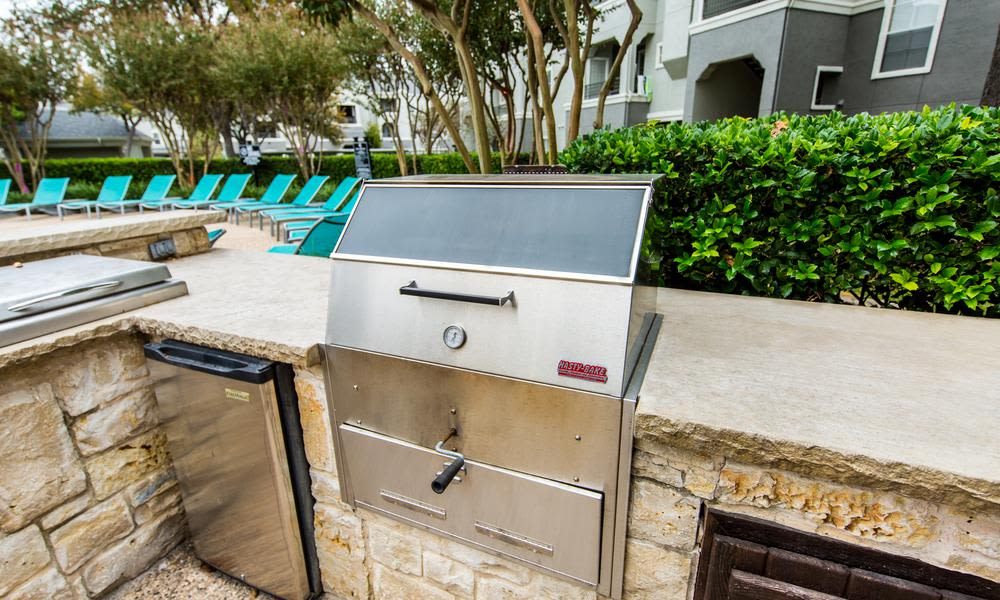 Grill for cooking at Marquis at Stonegate in Fort Worth