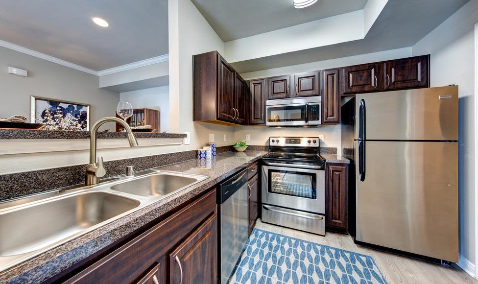 Enjoy our modern kitchen at Brooks on Preston in Plano, Brooks on Preston