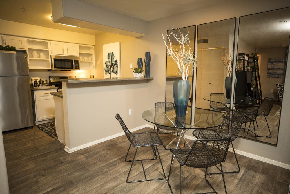 Renovate kitchen at San Valiente Luxury Apartment Homes in Phoenix