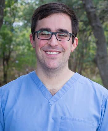 Dr. Sam Seider at Travis Country Veterinary Hospital