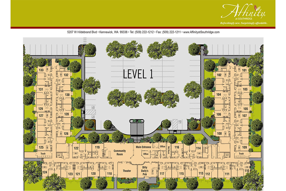 Level 1 at Affinity at Southridge