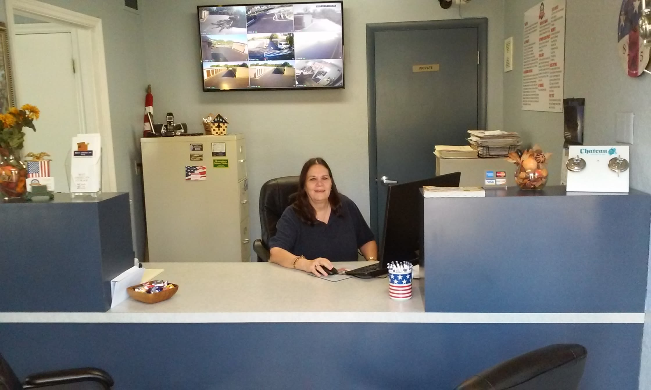 Property Manager at our Self Storage Facility