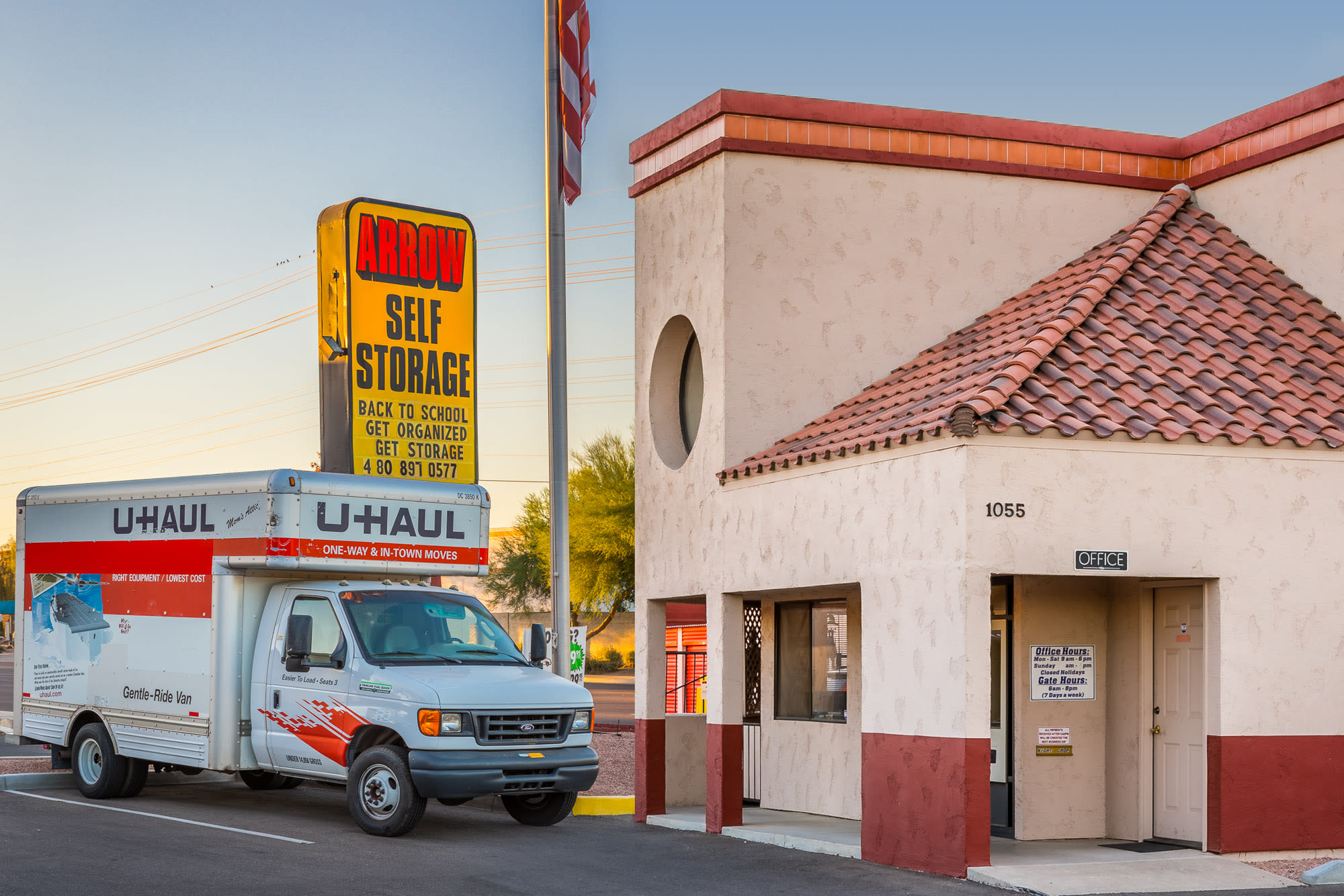 Self storage for all of your needs in Mesa, AZ