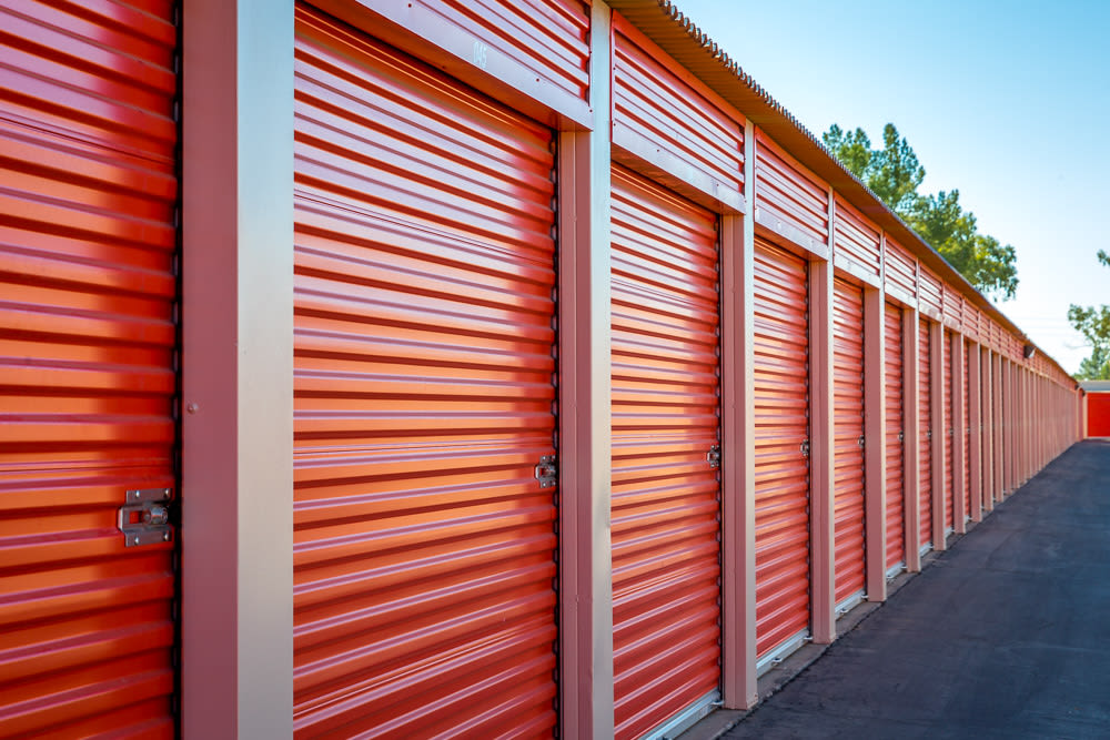 Drive up self storage units in Mesa, AZ