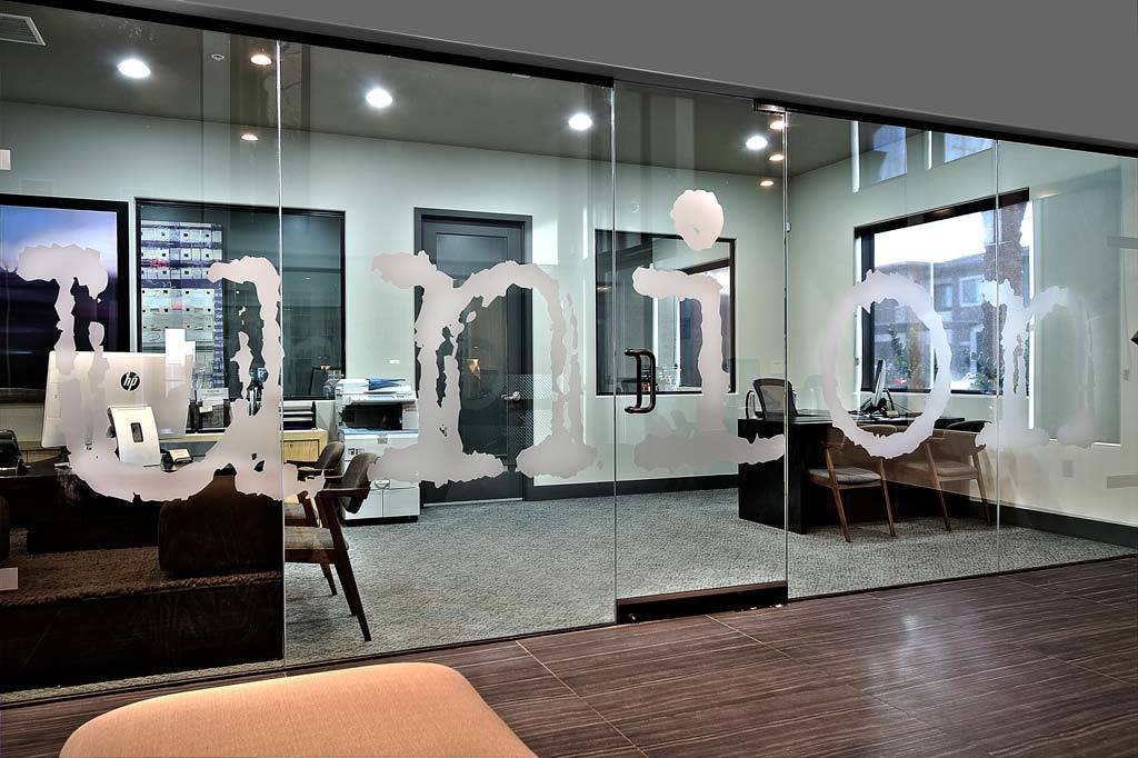 Leasing office interior view at Union Apartments in Las Vegas