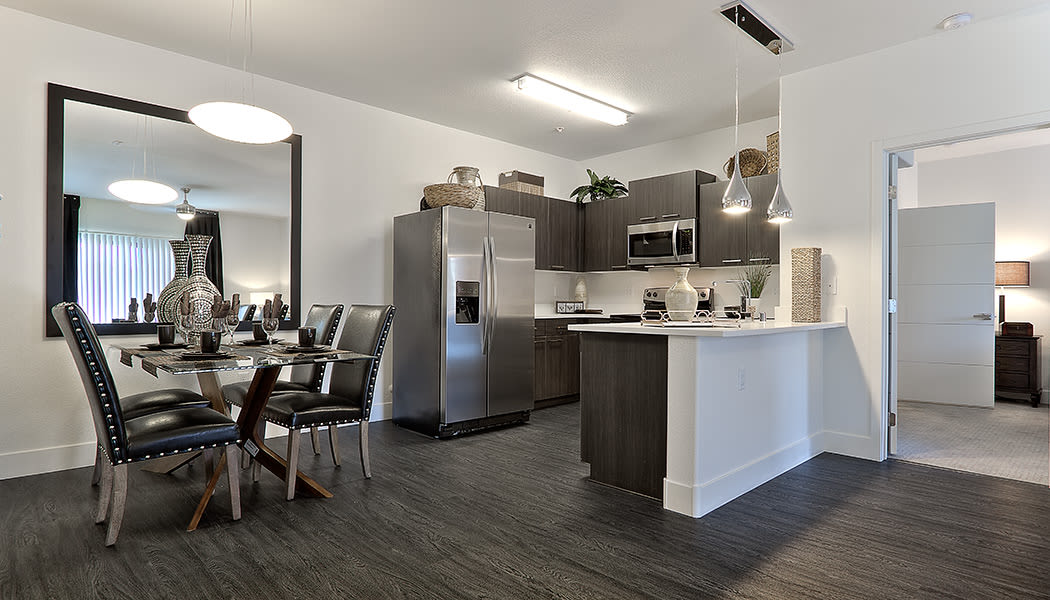 Spacious floor plans at Union Apartments