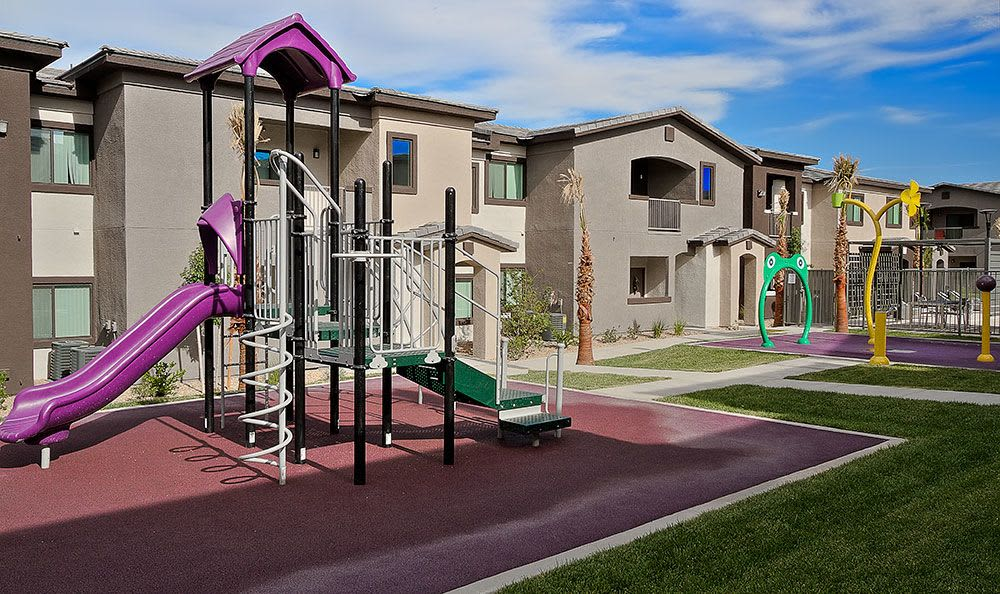 On-site playground at Union Apartments in Las Vegas