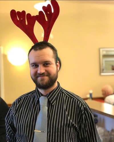 Alzheimer's Christmas celebration