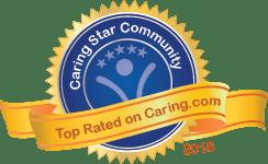 Caring.com 2018 Top Rated Community Award