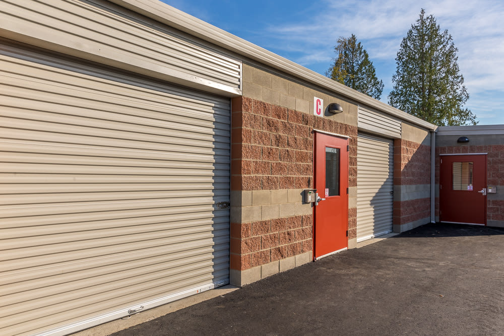 Beau ... Exterior Heated Storage Space At Clock Tower Self Storage   Lake  Stevens In Lake Stevens, ...
