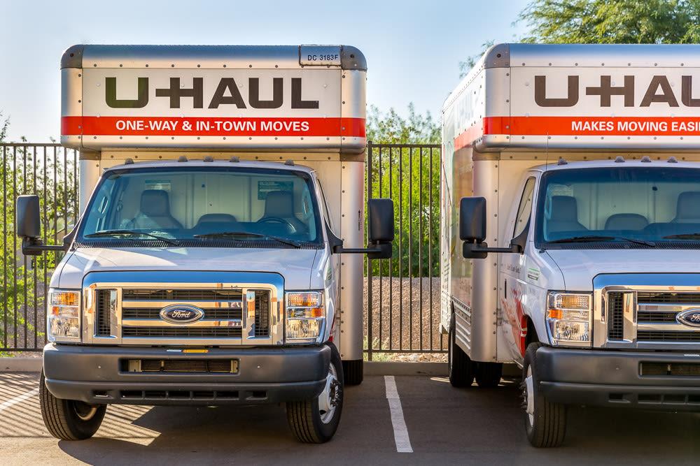 UHauls Available at Cottonwood Cool Storage in Cottonwood, AZ