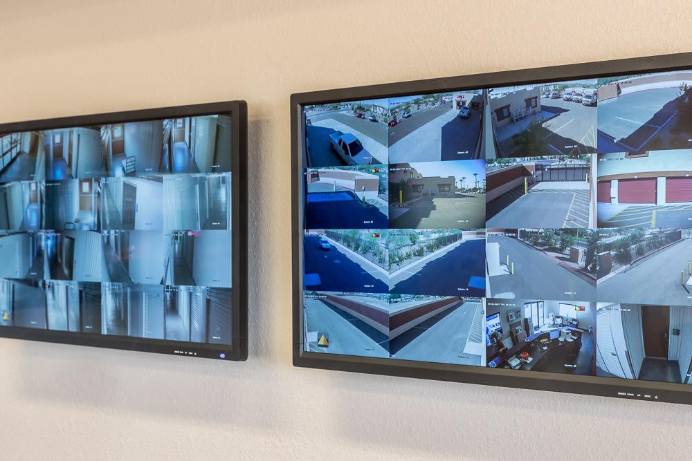 Security Monitors at Cottonwood Cool Storage in Cottonwood, AZ