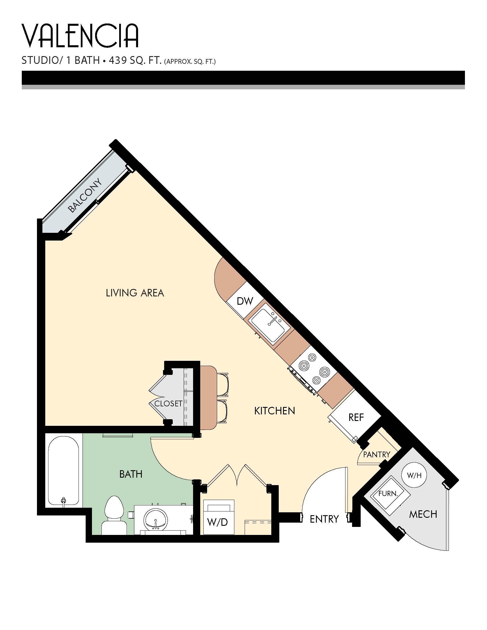 Studio 1 2 Bedroom Apartments For Rent In Salt Lake City Ut