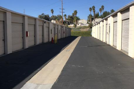 Outside Storage Units At Storquest Self In Temecula