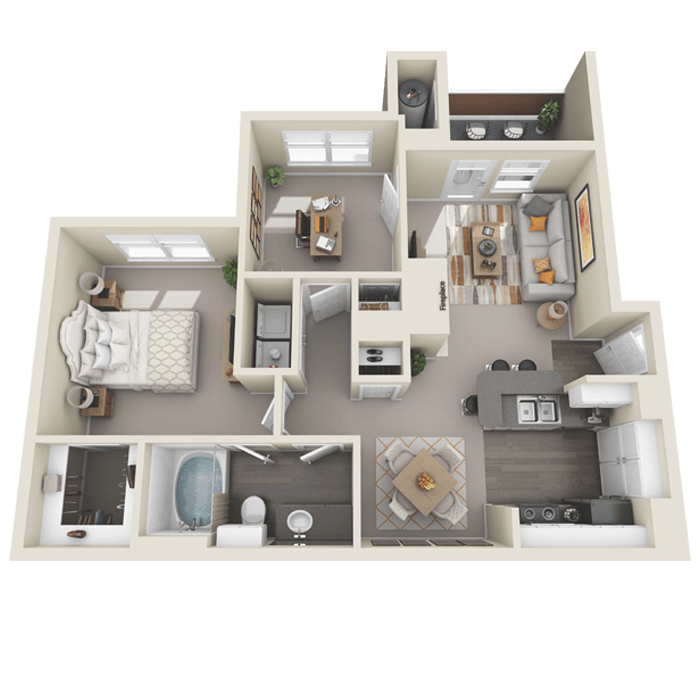 Spacious and Open 2-Bedroom Apartment in Colorado Springs