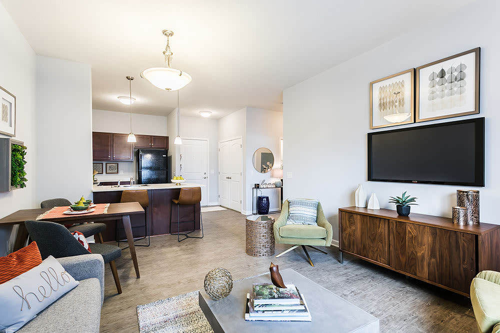 Ample living space at Villa Capri Senior Apartments in Rochester, New York