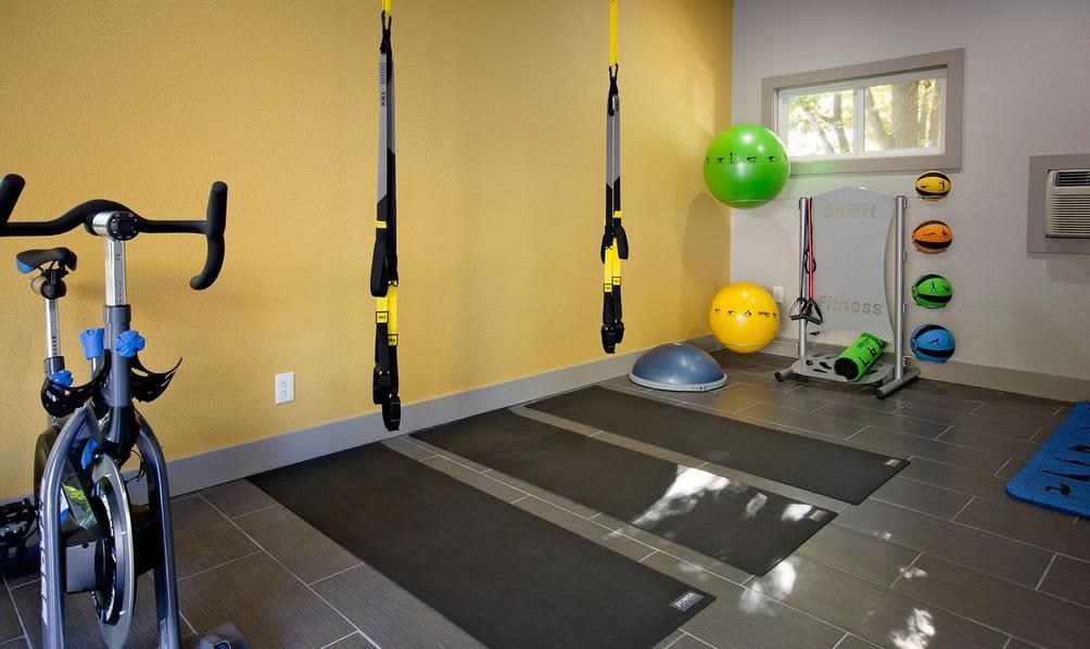 Yoga center at apartments in Beaverton, Oregon