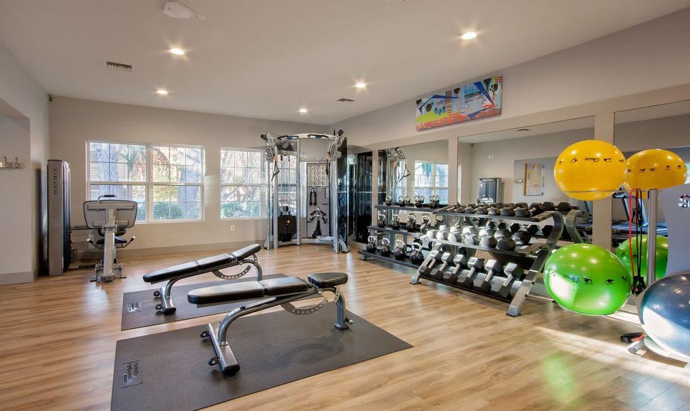 Modern fitness center at Beaverton, Oregon