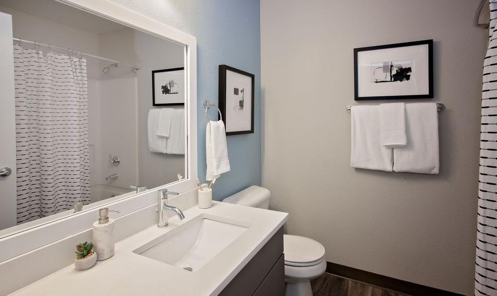 Confortable bathroom at Beaverton, Oregon