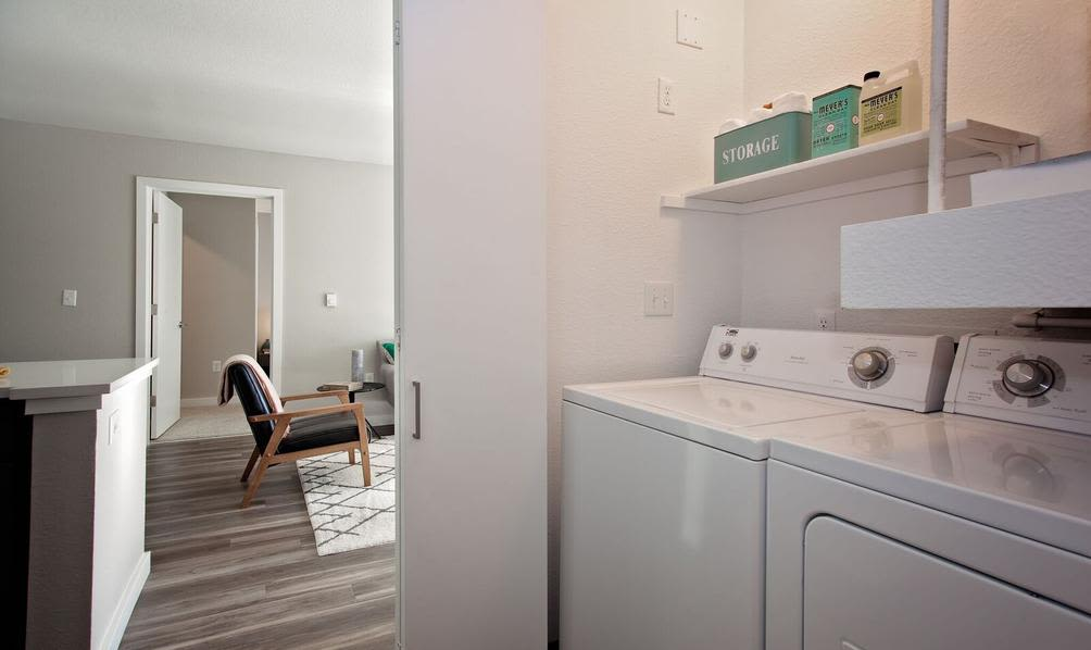 Laundry room in Beaverton, Oregon