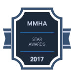 MMHA Star award for Columbia Pointe Apartment Homes in Columbia