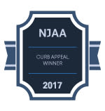 NJAA Curb Apeal Award for Mews at Annandale Townhomes in Annandale