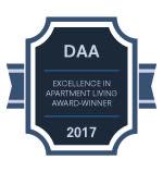 DAA award for Fox Run Apartments & Townhomes in Bear