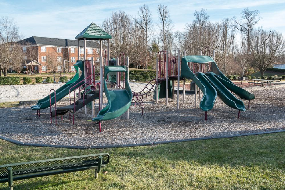 Outside playground at Laurel Springs in High Point, North Carolina
