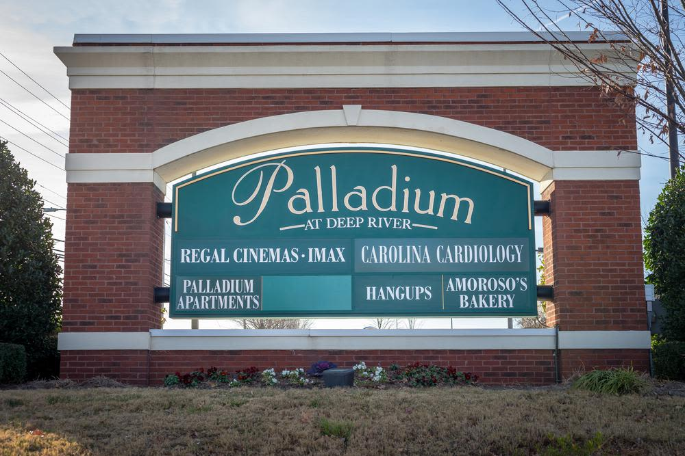 Catch a movie at Palladium Cinemas near to The Enclave at Deep River in Greensboro, North Carolina