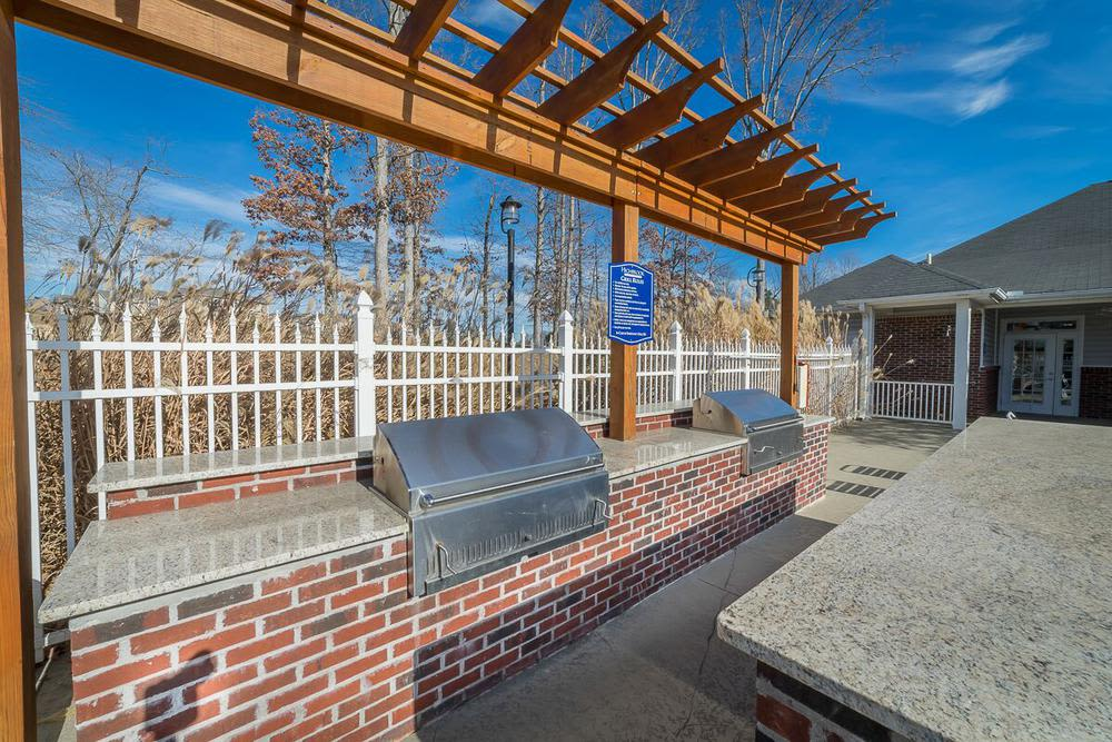Grilling area at Highbrook in High Point, NC