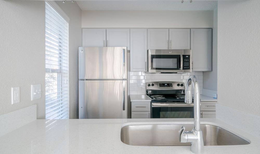 Enjoy a unique kitchen  at Northstar Apartments in Austin