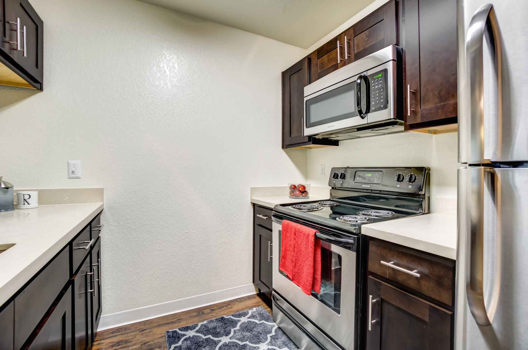 Kitchen and Living Room at Serramonte Ridge Apartment Homes in Daly City