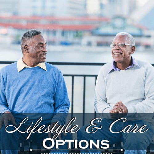Learn about service options at the senior living community in Frederick