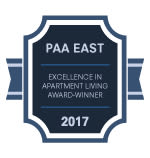 PAA East award for Brookmont Apartment Homes in Philadelphia