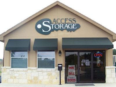 Access Self Storage in Boerne, Texas
