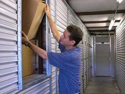 A variety of units are available at Access Self Storage