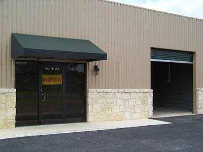 Exterior of Access Self Storage
