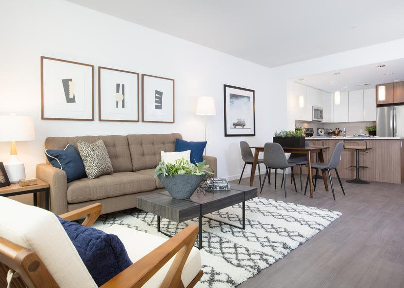 Apartment features at Aster